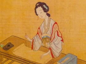李清照的生平故事(三):卖花担上,买得一枝春欲放。 泪染轻匀,犹带彤霞晓露痕。